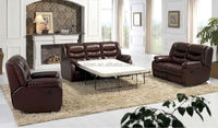 Living room furniture leather sofa bed natuzzi recliner sofa parts KQ40
