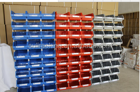 NEW Plastic Storage Bin Container Stackable Home Work Bench Organizer