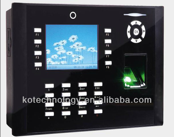 KO-iclock660 ICLOCK 660 fingerprint access control with camera (can optional ID card or IC card)