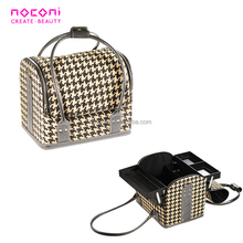 Factory wholesale cosmetic case portable hard professional makeup case for lady