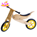 Newest design best wood walking bike for kids balance training W16C066