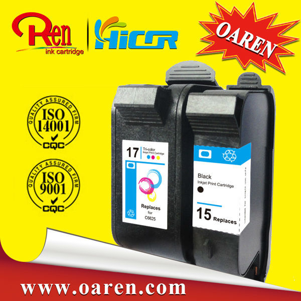 Remanufactured Ink Cartridge for HP C6615A