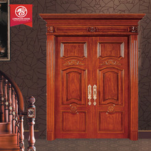 Malaysian 8ft interior solid wooden double doors