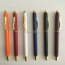 Exclusive Custom Plastoc Slim Ballpoint Pen With Brand Logo