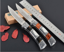 B3159 spots stainless pakistan damascus folding knife