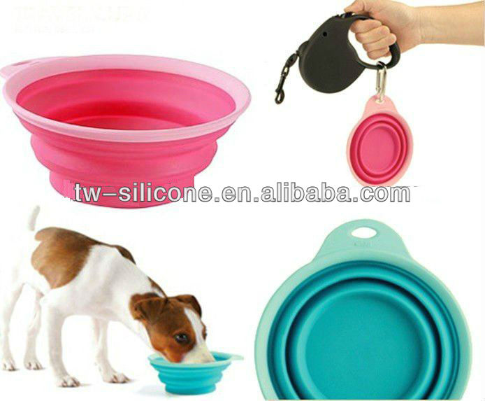 Best selling dog products silicone dog bowl pet feeder