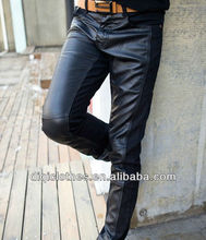 Hot sale 2013 newest lady fashion leather pants