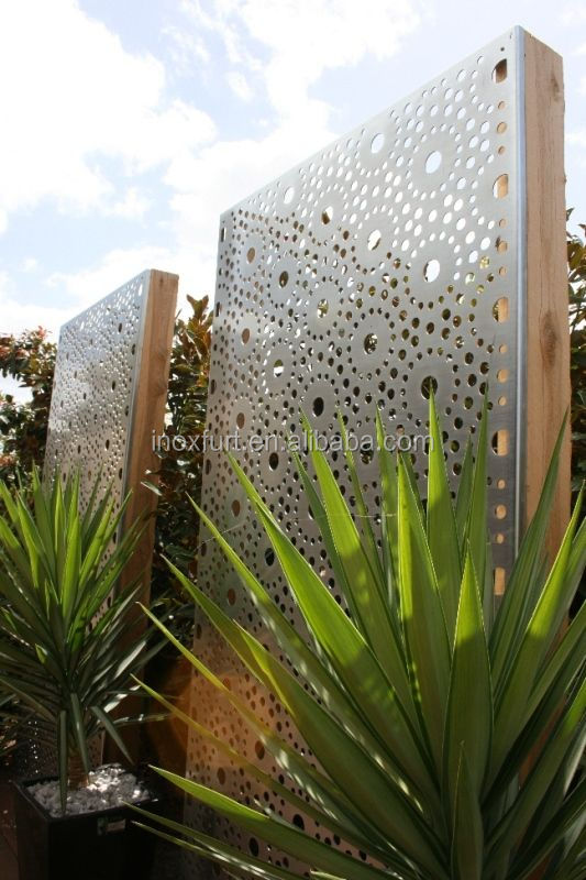 Exterior Decorative Perforated Metal Stainless Steel Wall Panels