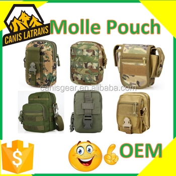 Canis Latrans Tactical molle pocket mobile phone bag pouch for outdoor CL6-0094