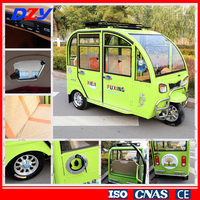 Green Energy adult big three wheel tricycle shelter for passenger