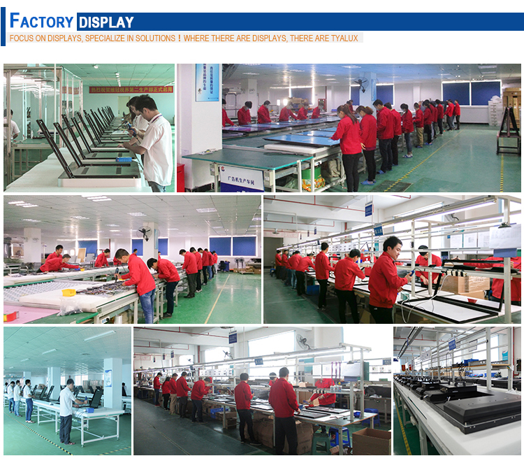 factory information outdoor digital signage displays ip65 advertising display