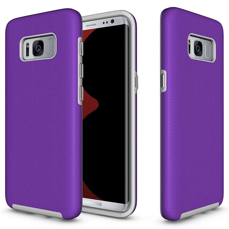 custom logo tpu plastic shockproof case for samsung galaxy s8 smartphones covers