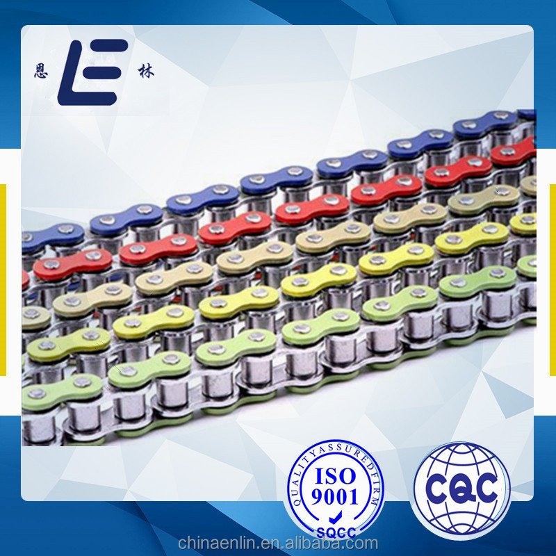 Colored motorcycle chain china motorcycle spare parts