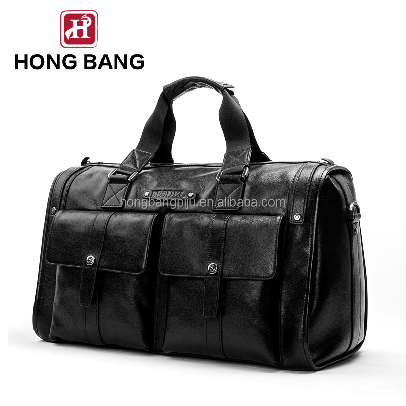 new arrival mens leather travel bag handbag