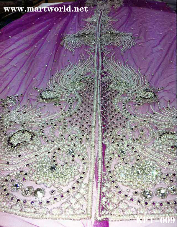 high-end purple beaded moroccan kaftans for sale (KFT-009)