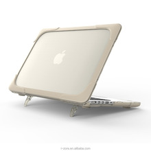 Full Protective Laptop Cover for MacBook Pro 13 Retina Case With Kickstand