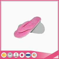 coral fleece high quality hotel disposable flip flop EVA slipper