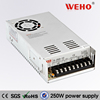 CE certificated 2 years warranty 12v 250W single output 20a switching power supply