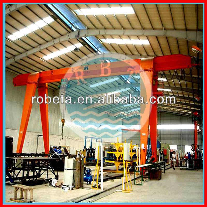 China high quality professional double Overhead Crane manufacturer 10Ton