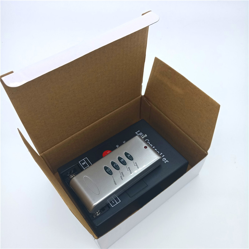 LED RF controller 4 keys remote controller DC5-24V wireless controller for LED RGB module light strip light