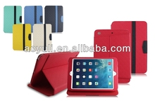 fantastic PU case for phone with snap-on design, leather case for ipad mini 2 cell phone