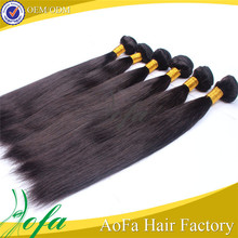 Wholesale premium factory price natural 6A brazilian virgin human hair