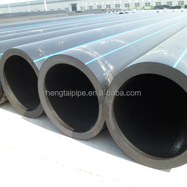 China hdpe pipe plastic water pipe tubos de hdpe PE100