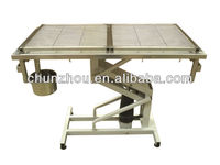 hydraulic stainless steel pet operating table /H-202