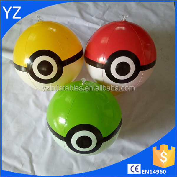 Inflatable eye beach ball/elf beach ball/inflatable beach balls for promotion
