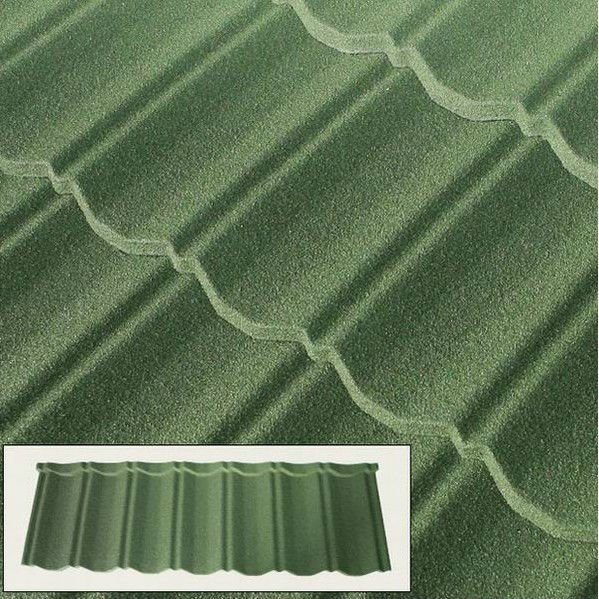 colorful light weight stone coated metal steel roofing tile