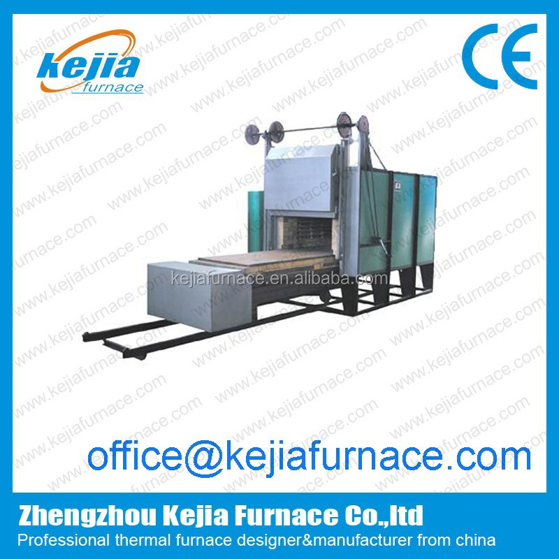 Trolley furnace for quenching/ceramic shuttle kiln