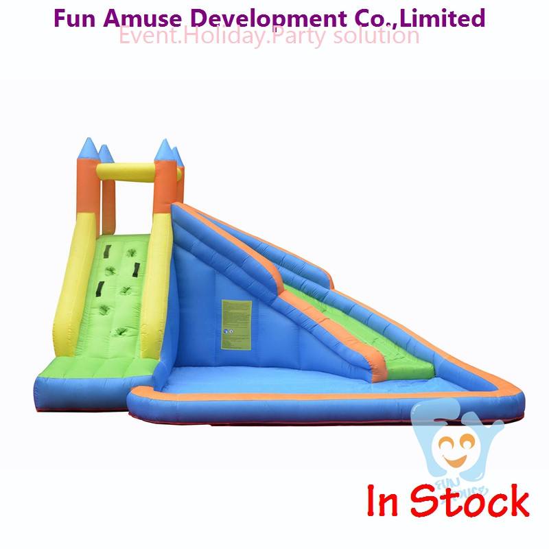 wholesale cheap giant inflatable water pool slide for sale