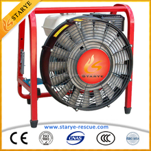 CE Standard Firefighting Equipment 17pcs Blades Firefighting Smoke Exhaust Ventilator Fire Suppression System