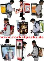 Backpack Drink Dispenser Dispense draught beer