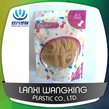 Industrial golden rubber band for packaging and vegetable