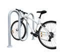 Hot Galvanized Outdoor Wave Bicycle Parking Rack