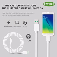 5W 5V 5A 1.2M Micro USB Cable With VOOC Technology Ultra Fast Charging Data USB Cable Cord Line For OPPO Phone