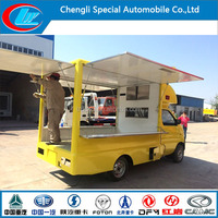 4x2 small Horsepower mini mobile food truck