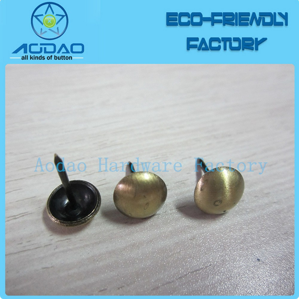 Brass Sofa Nail For Furniture Upholestery Tack For Decoration