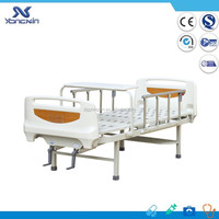 YXZ-C-043A Home care medical hospital bed 2 cranks patient medical bed for sale