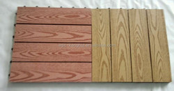 Caml high recycle diy wpc interlock decking tiles