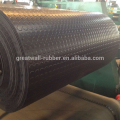 Great Wall Snake skin surface antislip round button SBR /NBR /EPDM rubber sheet