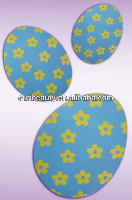 2mm thick paper cutout easter egg religious easter decorations