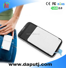 ABS power charger pocket, Wallet Power Packs, portable Power Bank Thin