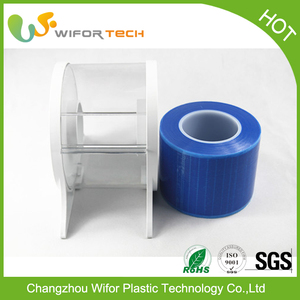Blue Transparent Self Adhesive Pvc Film For Printing