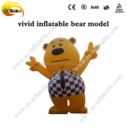 vivid giant advertisment inflatable bear model cartoon bear