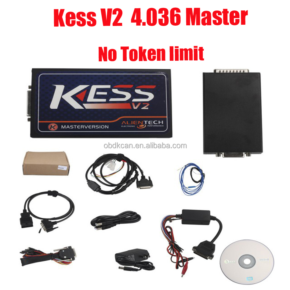 2017 Newest version Original kess v2 Master kess 4.036 obd ii Manager ecu programming tool kess v2 with best price