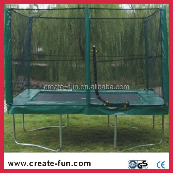 hot-selling big gymnastic square bungee jumping trampoline