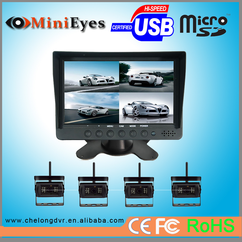 7 car monitor hdmi audiovox aca250 rear-view system car battery voltage monitor