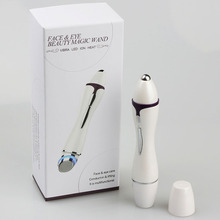 Acne treatment vibration face and eye beauty magic wand